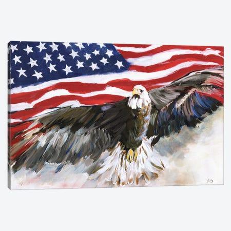 Flying Free Canvas Print #KDO31} by Kelly Donovan Canvas Art Print