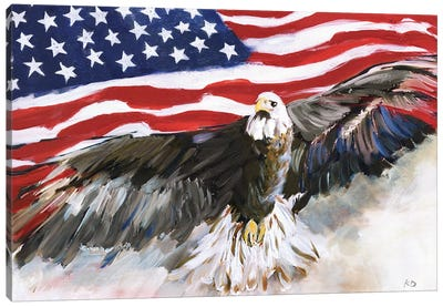 Flying Free Canvas Art Print