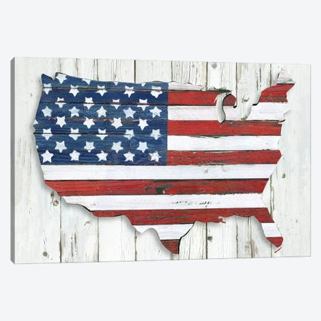 Land of Liberty Canvas Print #KDO32} by Kelly Donovan Art Print