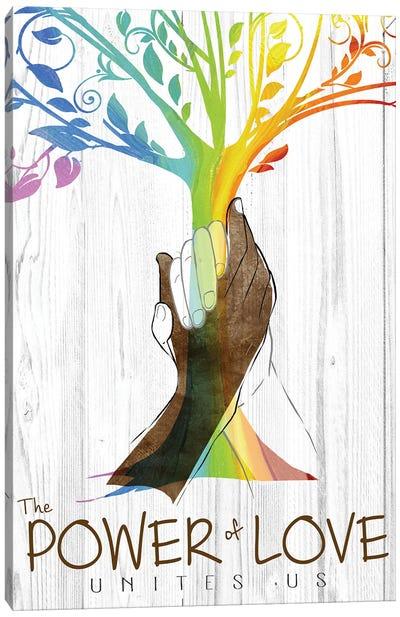 Power of Love Canvas Art Print