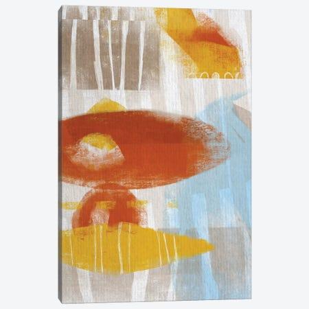 Calder I 3-Piece Canvas #KDS1} by Karen Deans Canvas Artwork