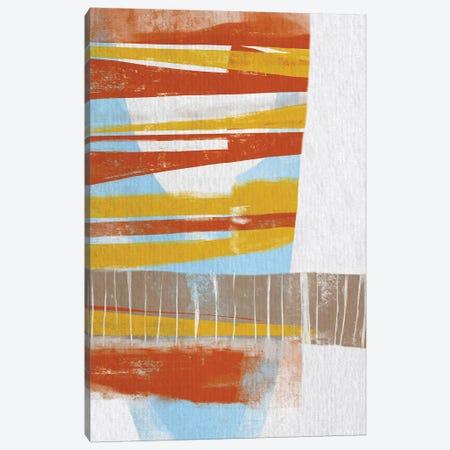 Calder II 3-Piece Canvas #KDS2} by Karen Deans Canvas Wall Art