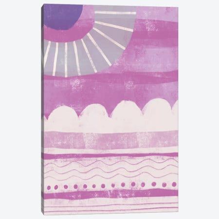 Pink Dream I 3-Piece Canvas #KDS6} by Karen Deans Canvas Print