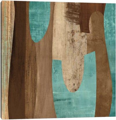 Aqua Turns II Canvas Art Print
