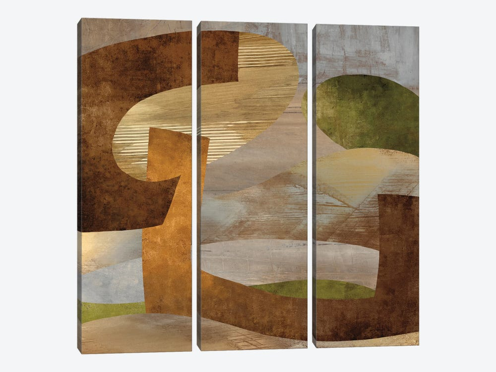 Conjunction II by Kevin Baker 3-piece Art Print