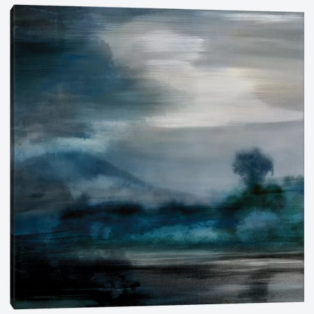 Cerulean Dawn I Canvas Print #KEC1} by Kelly Corbin Canvas Artwork