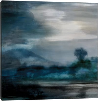 Cerulean Dawn I Canvas Art Print