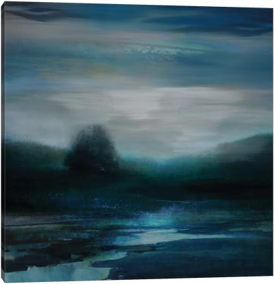 Cerulean Dawn II Canvas Art Print