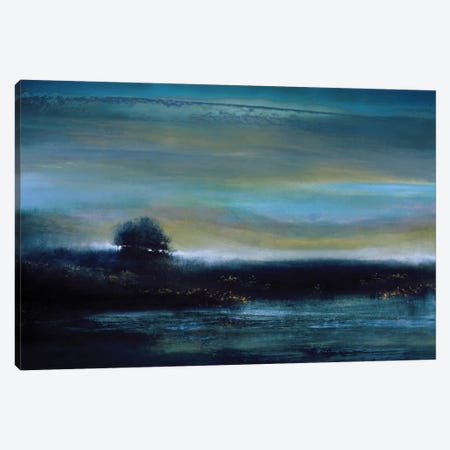 Indigo Evening Canvas Print #KEC3} by Kelly Corbin Canvas Wall Art