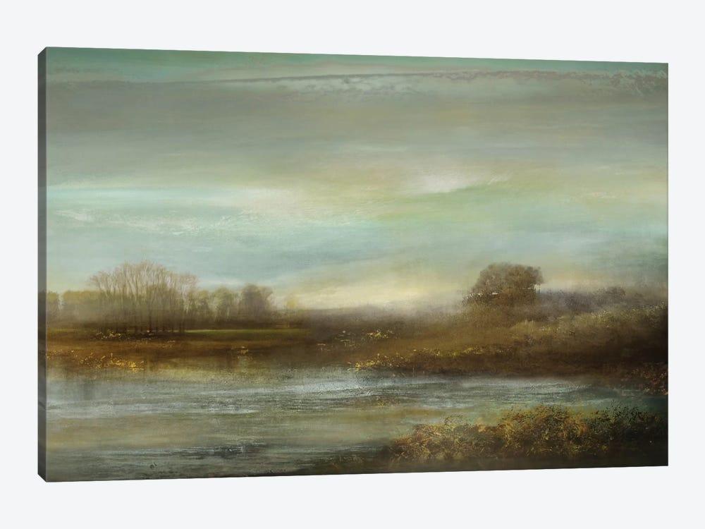 Mist On The Pond by Kelly Corbin 1-piece Art Print