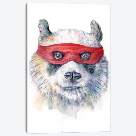 Panda Canvas Print #KEE10} by Brandon Keehner Canvas Art