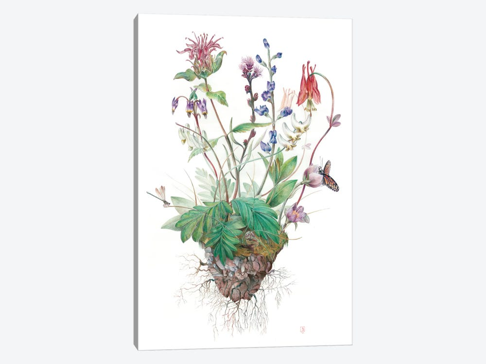 Wildflowers by Brandon Keehner 1-piece Art Print