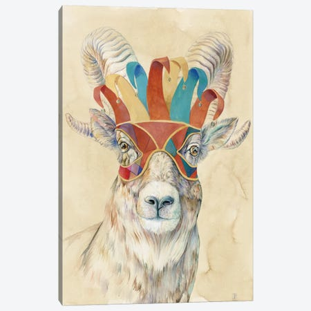 Masquerading Bighorn Sheep Canvas Print #KEE2} by Brandon Keehner Canvas Artwork