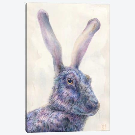 Black Rabbit Canvas Print #KEE3} by Brandon Keehner Canvas Artwork