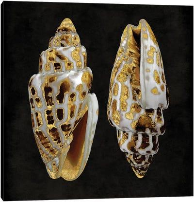 Golden Ocean Gems I Canvas Art Print