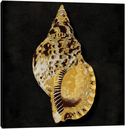 Golden Ocean Gems III Canvas Art Print