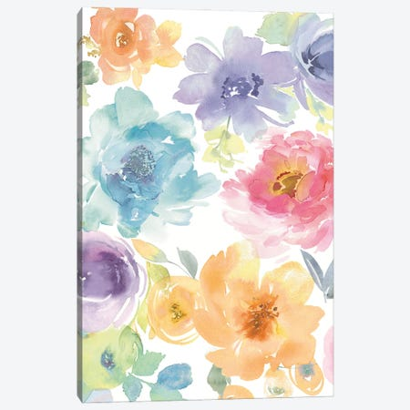 Springtime Floral I Canvas Print #KEM16} by Kelsey Morris Canvas Art Print