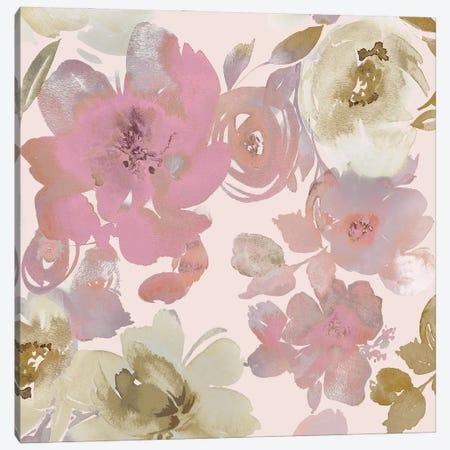 Springtime Pink I Canvas Print #KEM27} by Kelsey Morris Canvas Artwork