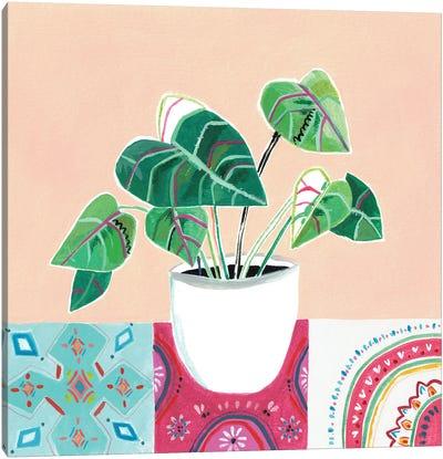 Growing Happy I Canvas Art Print