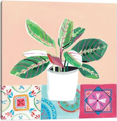 Growing Happy II Canvas Art Print