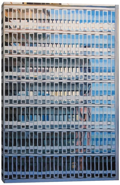 Office Blocks Series: Metro Central Heights Canvas Art Print
