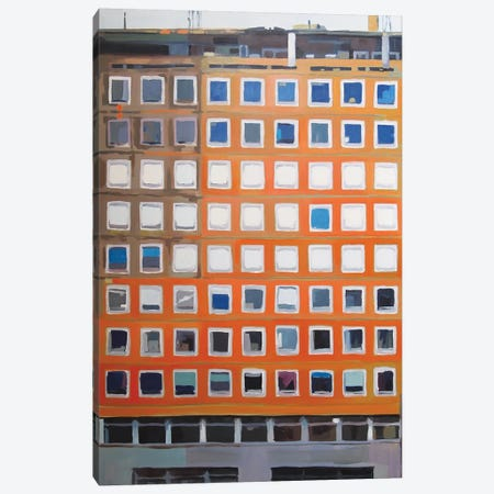 Office Blocks Series: Prince Consort House Canvas Print #KER11} by Keith Robinson Art Print