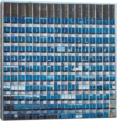 Office Blocks Series: The Tower Building Canvas Print #KER12
