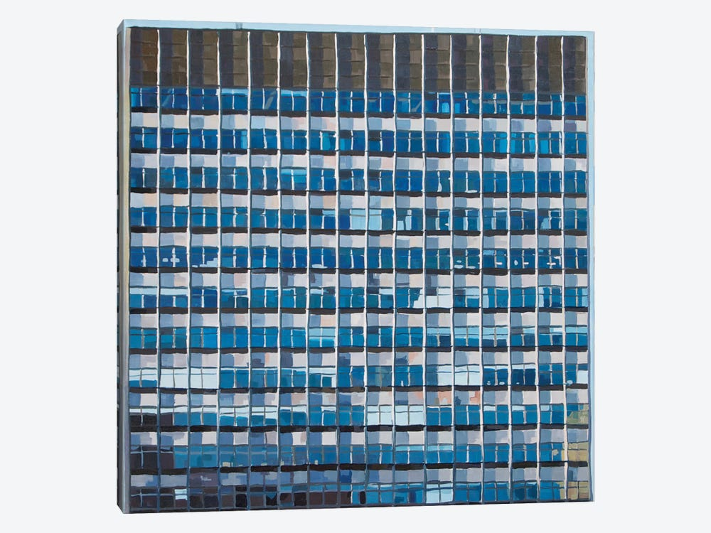 Office Blocks Series: The Tower Building by Keith Robinson 1-piece Art Print
