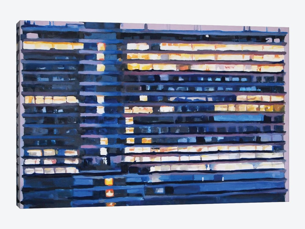The Tower At Four Thirty by Keith Robinson 1-piece Canvas Artwork