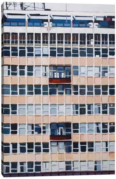 Office Blocks Series: 22-27 Albert Embankment, London Canvas Print #KER1