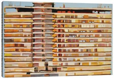 The Tower At Nine O'Clock Canvas Art Print