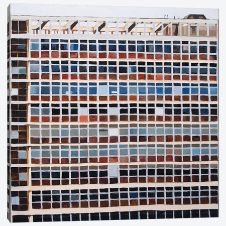 Office Blocks Series: Block Opposite Tate Britain III Canvas Print #KER2} by Keith Robinson Canvas Artwork