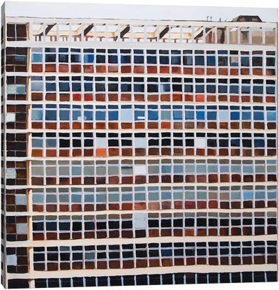 Block Opposite Tate Britain III Canvas Art Print