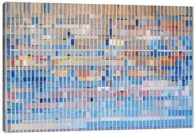 Office Blocks Series: Claude & Hannibal I Canvas Print #KER3