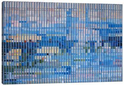 Office Blocks Series: Claude & Hannibal III Canvas Print #KER5