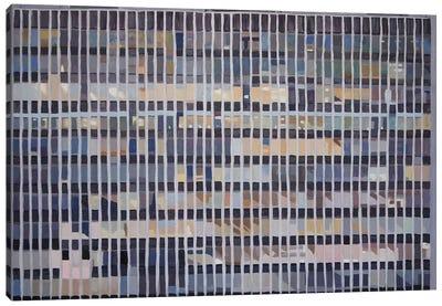 Office Blocks Series: Hannibal House At Dusk Canvas Print #KER9