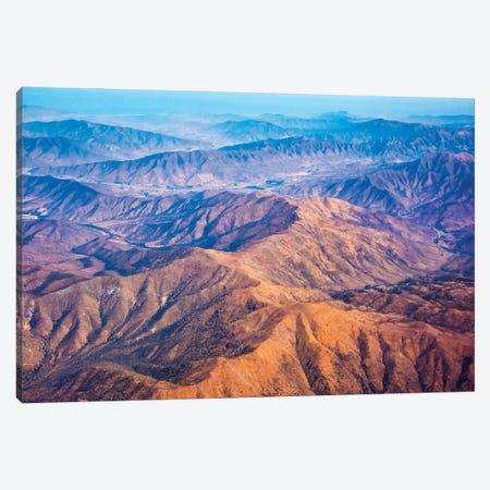 Aerial view of mountains, Atacama Desert, Chile Canvas Print #KES122} by Keren Su Canvas Wall Art