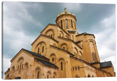 Holy Trinity Cathedral of Tbilisi, also known as Sameba, Tbilisi, Georgia Canvas Art Print