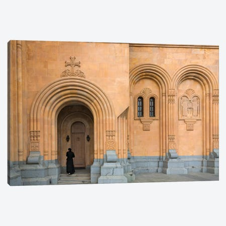 Holy Trinity Cathedral of Tbilisi, also known as Sameba, Tbilisi, Georgia Canvas Print #KES30} by Keren Su Canvas Art