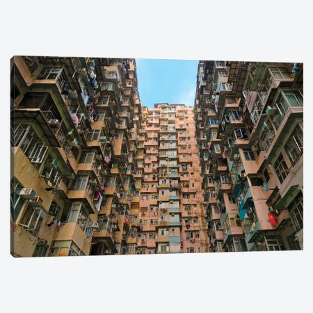 Montane Mansion in Quarry Bay, Hong Kong, China Canvas Print #KES33} by Keren Su Canvas Artwork