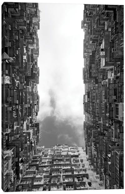 Montane Mansion in Quarry Bay, Hong Kong, China Canvas Art Print