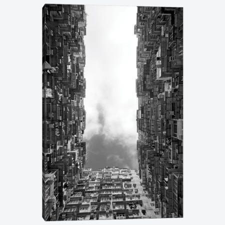Montane Mansion in Quarry Bay, Hong Kong, China 3-Piece Canvas #KES35} by Keren Su Art Print