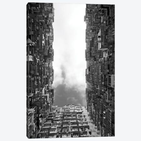 Montane Mansion in Quarry Bay, Hong Kong, China Canvas Print #KES35} by Keren Su Art Print