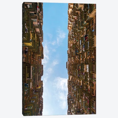 Montane Mansion in Quarry Bay, Hong Kong, China Canvas Print #KES36} by Keren Su Canvas Print