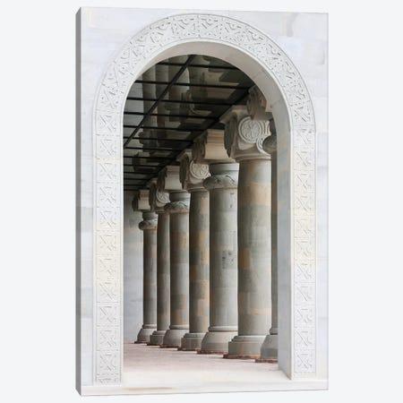Svetitskhoveli Church, Historical Monuments of Mtskheta (UNESCO World Heritage Site), Georgia. Canvas Print #KES49} by Keren Su Art Print