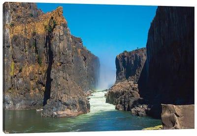Bottom of Victoria Falls, Zimbabwe Canvas Art Print