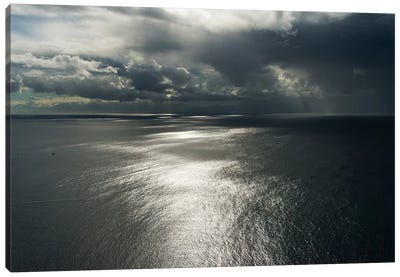 Clouds above ocean. Cape Point, Cape Peninsula, South Africa Canvas Art Print