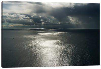 Clouds above ocean. Cape Point, Cape Peninsula, South Africa Canvas Art Print