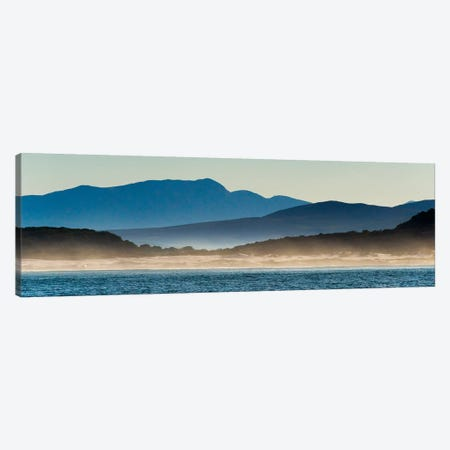 Ocean in Van Dyks Bay at sunrise. Western Cape Province, South Africa. Canvas Print #KES84} by Keren Su Canvas Art