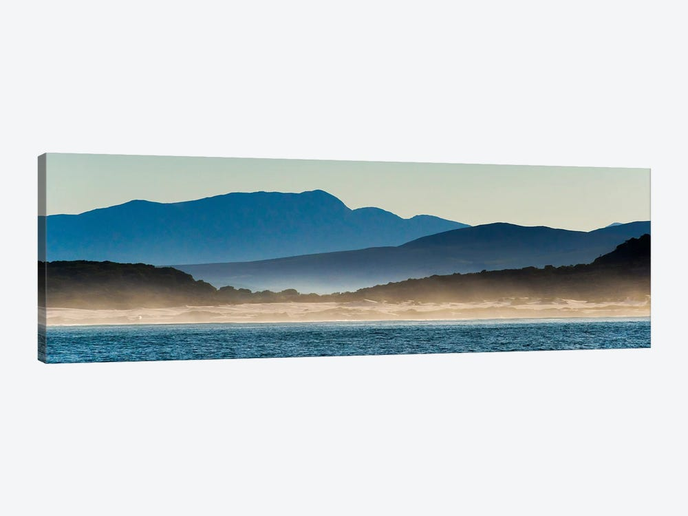 Ocean in Van Dyks Bay at sunrise. Western Cape Province, South Africa. 1-piece Art Print